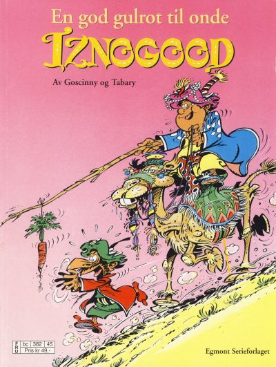 Cover for Iznogood (Hjemmet / Egmont, 1998 series) #5 - En god gulrot til onde Iznogood