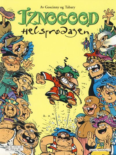 Cover for Iznogood (Hjemmet / Egmont, 1998 series) #6 - Helsprødagen