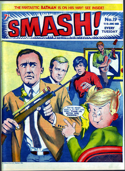 Cover for Smash! (IPC, 1966 series) #19
