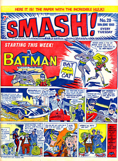 Cover for Smash! (IPC, 1966 series) #20