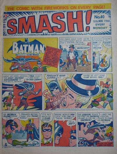 Cover for Smash! (IPC, 1966 series) #40