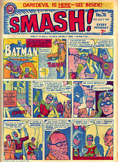 Cover for Smash! (IPC, 1966 series) #76