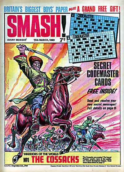 Cover for Smash! (IPC, 1966 series) #163