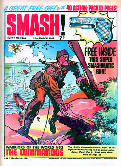Cover for Smash! (IPC, 1966 series) #164