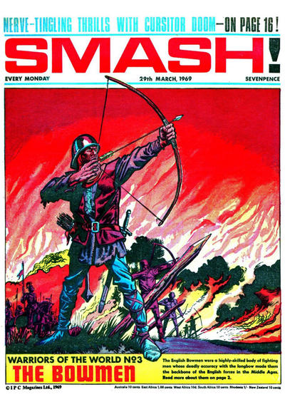 Cover for Smash! (IPC, 1966 series) #165