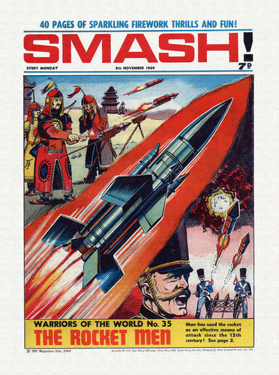 Cover for Smash! (IPC, 1966 series) #197