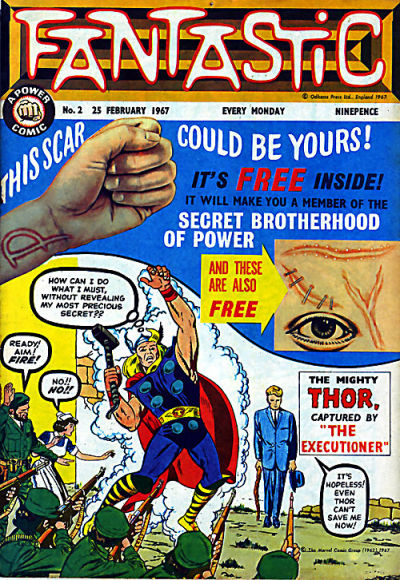 Cover for Fantastic! (IPC, 1967 series) #2