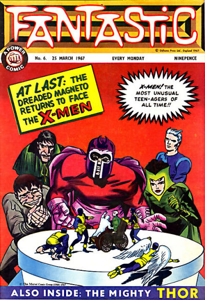 Cover for Fantastic! (IPC, 1967 series) #6
