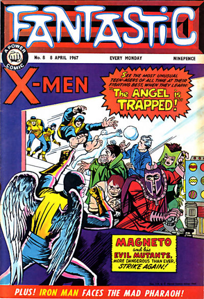 Cover for Fantastic! (IPC, 1967 series) #8