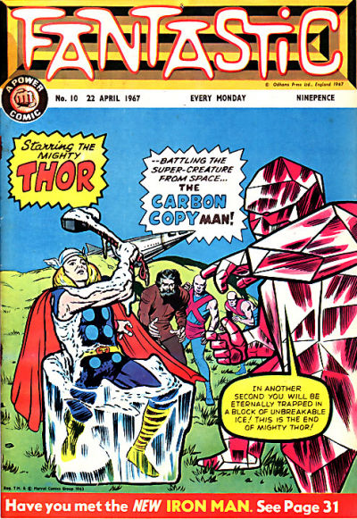 Cover for Fantastic! (IPC, 1967 series) #10