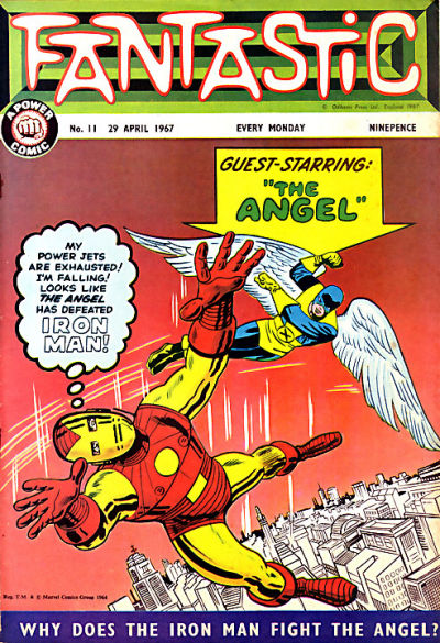 Cover for Fantastic! (IPC, 1967 series) #11