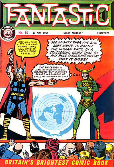 Cover for Fantastic! (IPC, 1967 series) #15