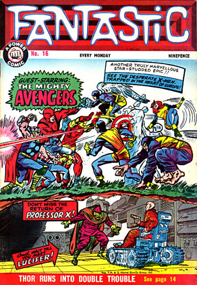 Cover for Fantastic! (IPC, 1967 series) #16