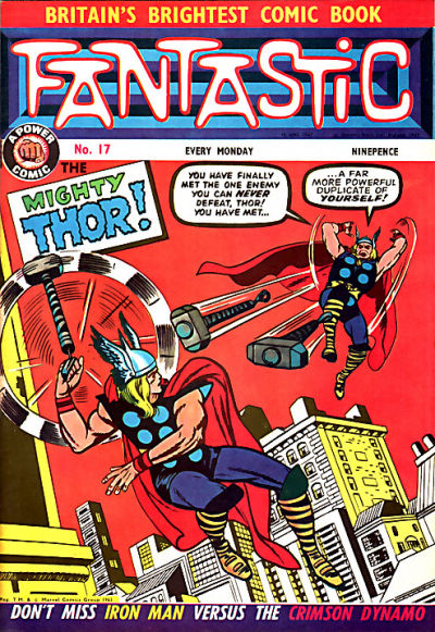 Cover for Fantastic! (IPC, 1967 series) #17