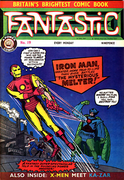 Cover for Fantastic! (IPC, 1967 series) #19