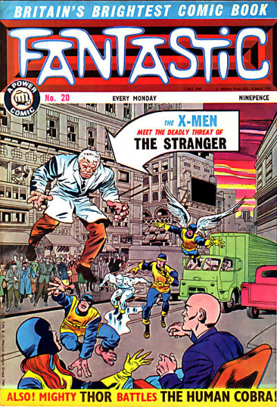 Cover for Fantastic! (IPC, 1967 series) #20