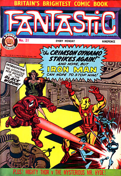 Cover for Fantastic! (IPC, 1967 series) #21