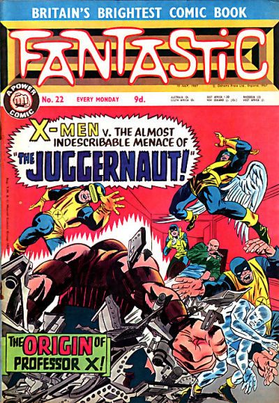 Cover for Fantastic! (IPC, 1967 series) #22