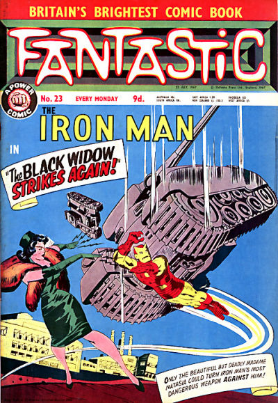 Cover for Fantastic! (IPC, 1967 series) #23
