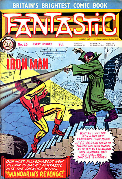 Cover for Fantastic! (IPC, 1967 series) #26