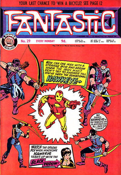 Cover for Fantastic! (IPC, 1967 series) #29
