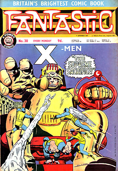 Cover for Fantastic! (IPC, 1967 series) #30