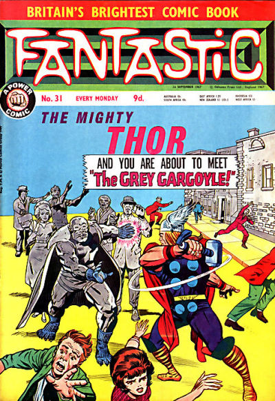 Cover for Fantastic! (IPC, 1967 series) #31