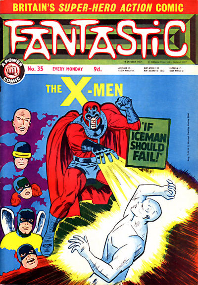 Cover for Fantastic! (IPC, 1967 series) #35