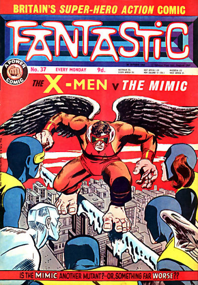 Cover for Fantastic! (IPC, 1967 series) #37
