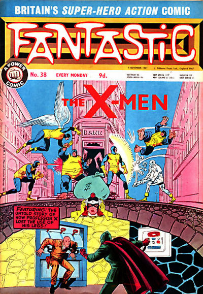 Cover for Fantastic! (IPC, 1967 series) #38