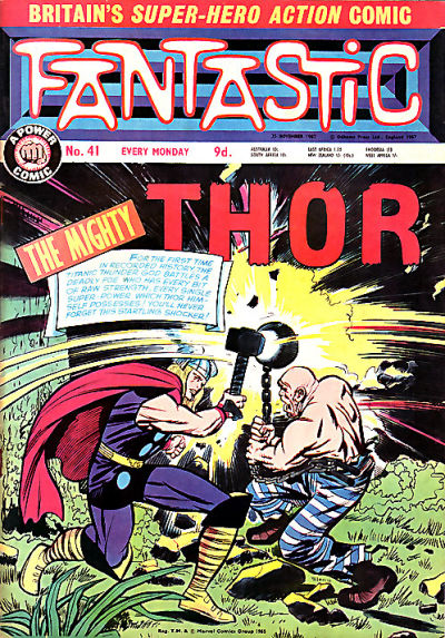 Cover for Fantastic! (IPC, 1967 series) #41