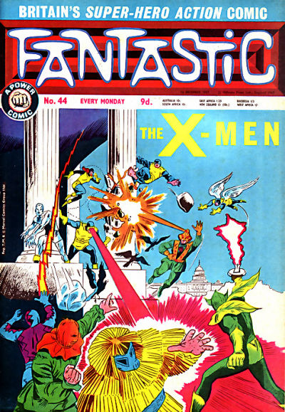 Cover for Fantastic! (IPC, 1967 series) #44