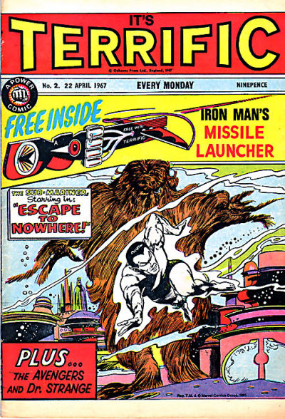 Cover for Terrific! (IPC, 1967 series) #2