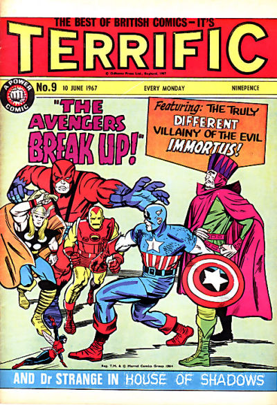 Cover for Terrific! (IPC, 1967 series) #9