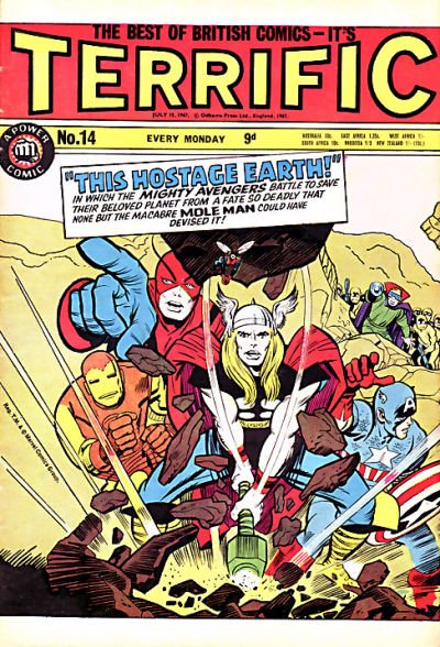Cover for Terrific! (IPC, 1967 series) #14