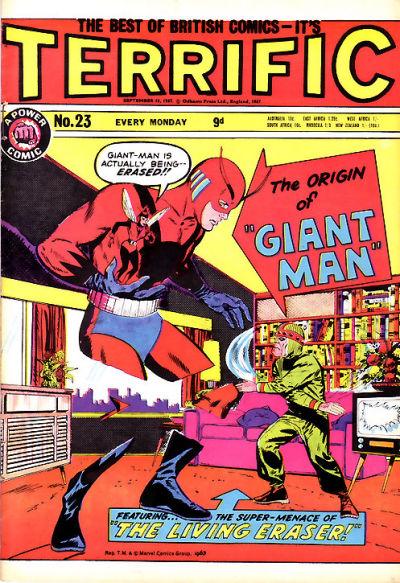 Cover for Terrific! (IPC, 1967 series) #23