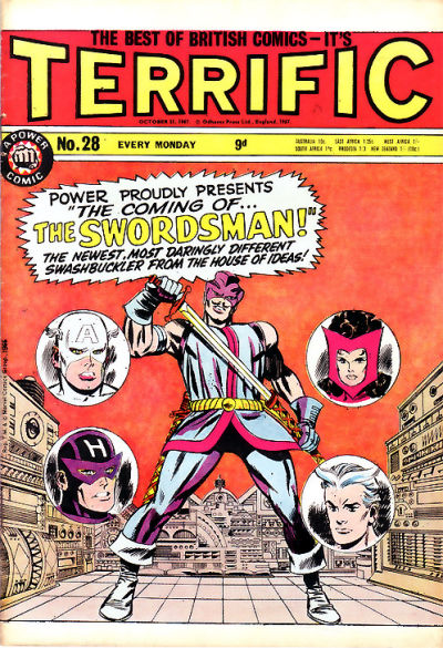 Cover for Terrific! (IPC, 1967 series) #28