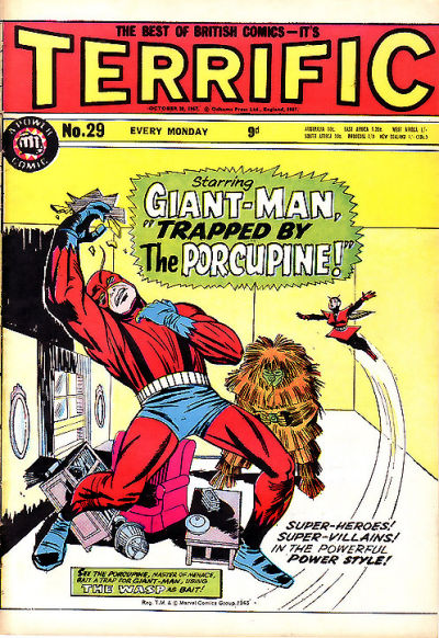 Cover for Terrific! (IPC, 1967 series) #29