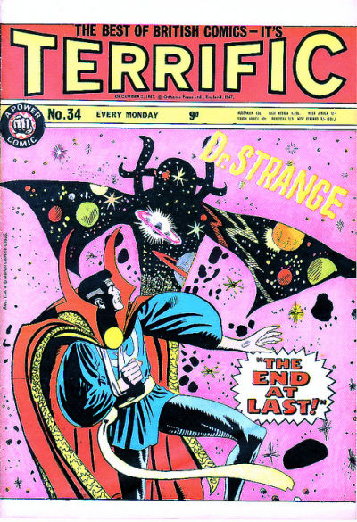 Cover for Terrific! (IPC, 1967 series) #34