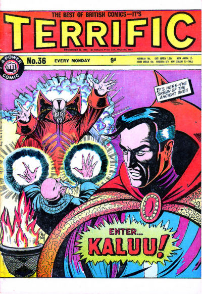 Cover for Terrific! (IPC, 1967 series) #36
