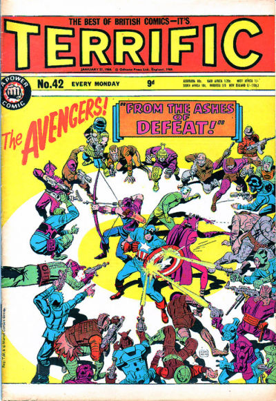 Cover for Terrific! (IPC, 1967 series) #42