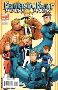 Cover Thumbnail for Fantastic Four and Power Pack (Marvel, 2007 series) #1