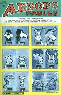 Cover Thumbnail for Aesop's Fables (Fantagraphics, 1991 series) #2