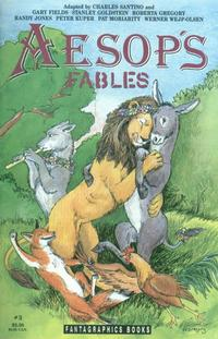 Cover Thumbnail for Aesop's Fables (Fantagraphics, 1991 series) #3