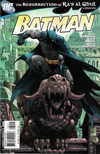 Cover Thumbnail for Batman (DC, 1940 series) #670 [Direct]