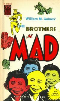 Cover Thumbnail for The Brothers Mad (Ballantine Books, 1958 series) #5 (267K)