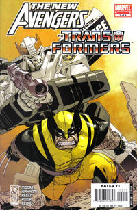 Cover Thumbnail for New Avengers/Transformers (Marvel, 2007 series) #2