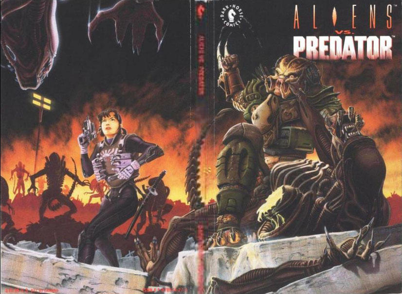 Cover for Aliens vs. Predator (Dark Horse, 1991 series)