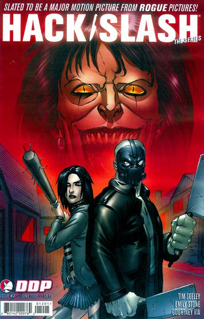 Cover for Hack/Slash: The Series (Devil's Due Publishing, 2007 series) #2 [Tim Seeley Cover]