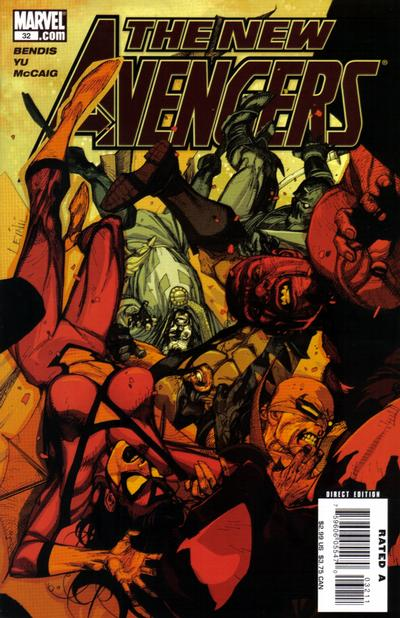 Cover for New Avengers (Marvel, 2005 series) #32